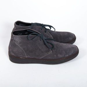 To Boot New York Gray Suede Chukka Boots